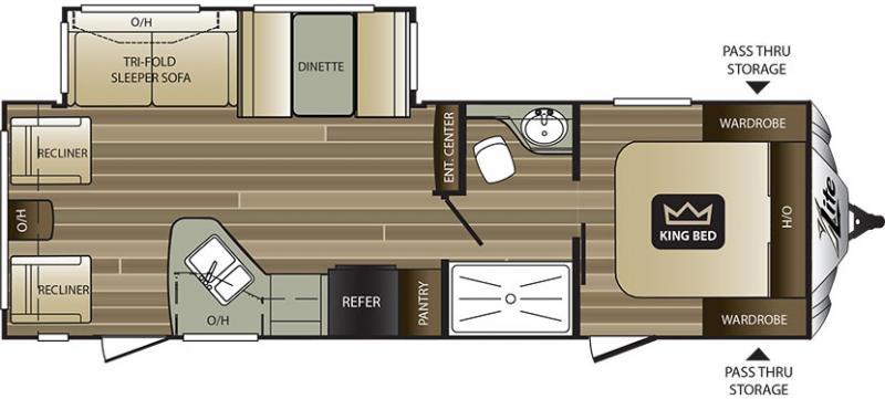 2018 Keystone Cougar Xlite 28RLS - American RV