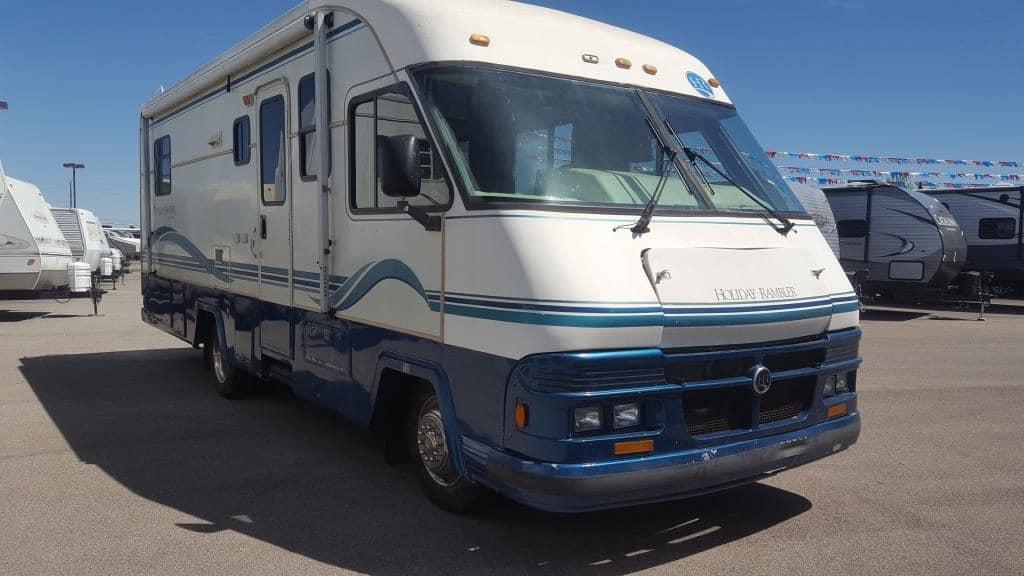 USED 1995 Holiday Rambler Vacationer 27WB - American RV