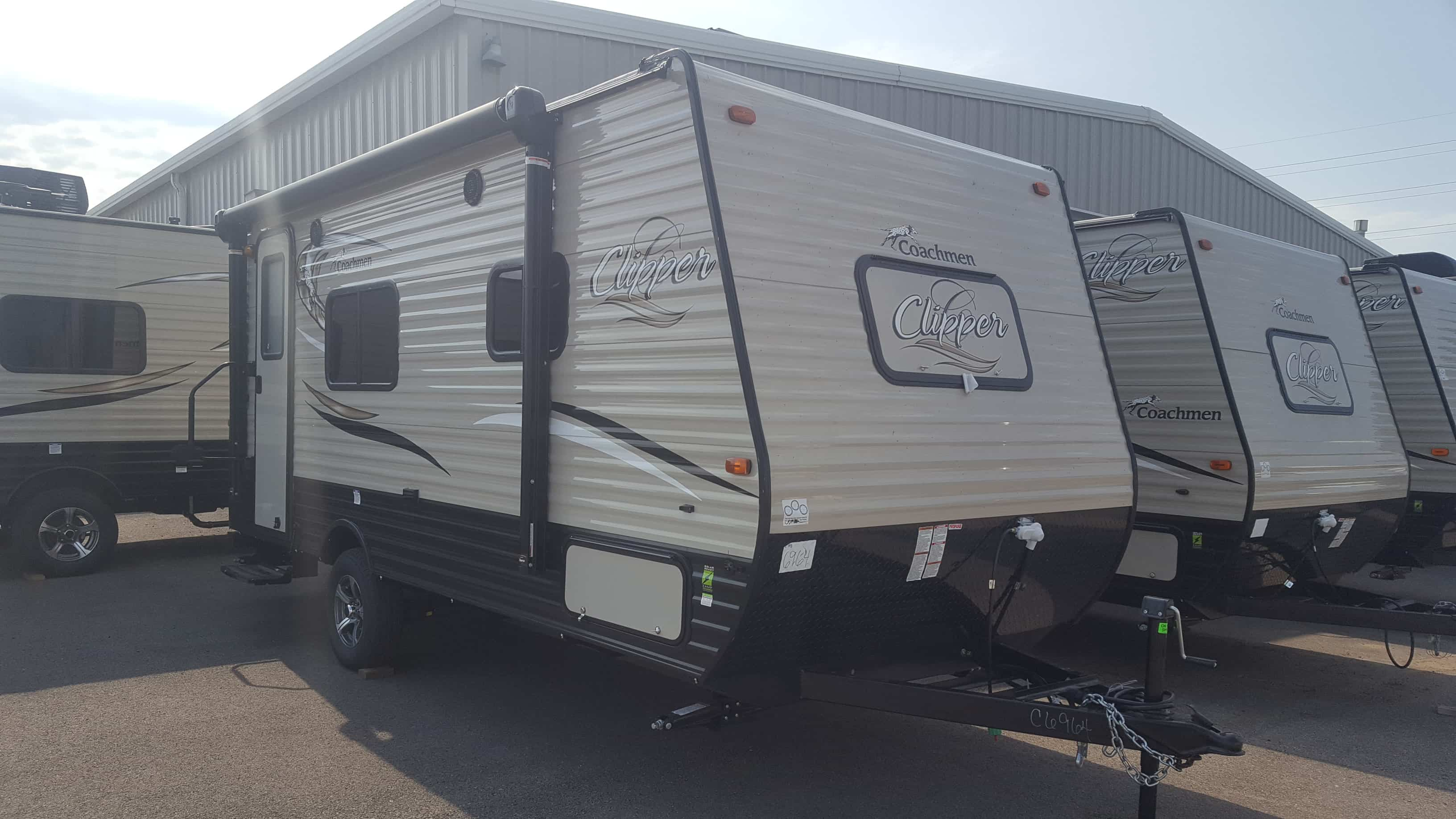 NEW 2018 Coachmen CLIPPER 17FB - American RV
