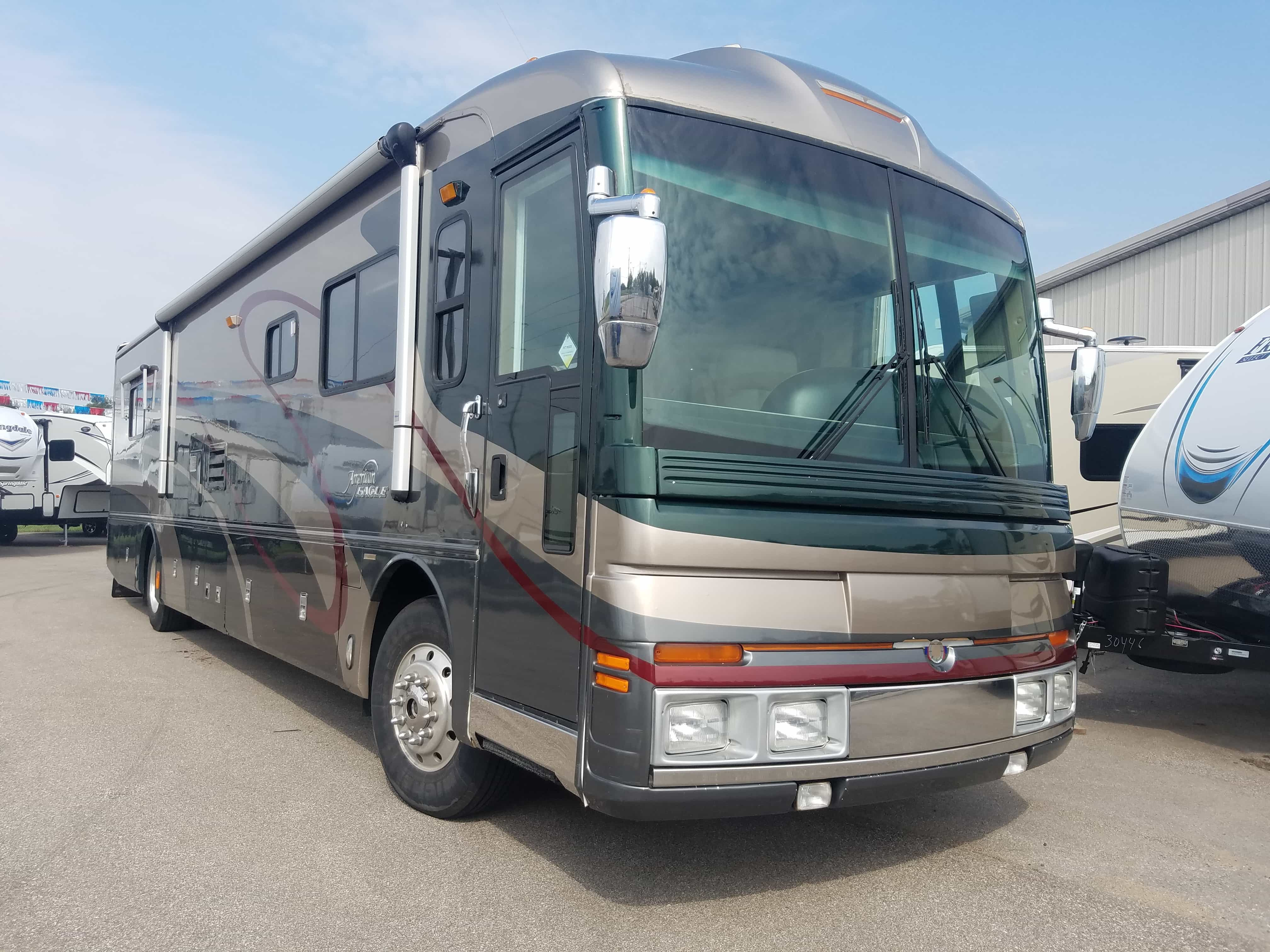 USED 2002 Fleetwood AMERICAN EAGLE 40EMS - American RV