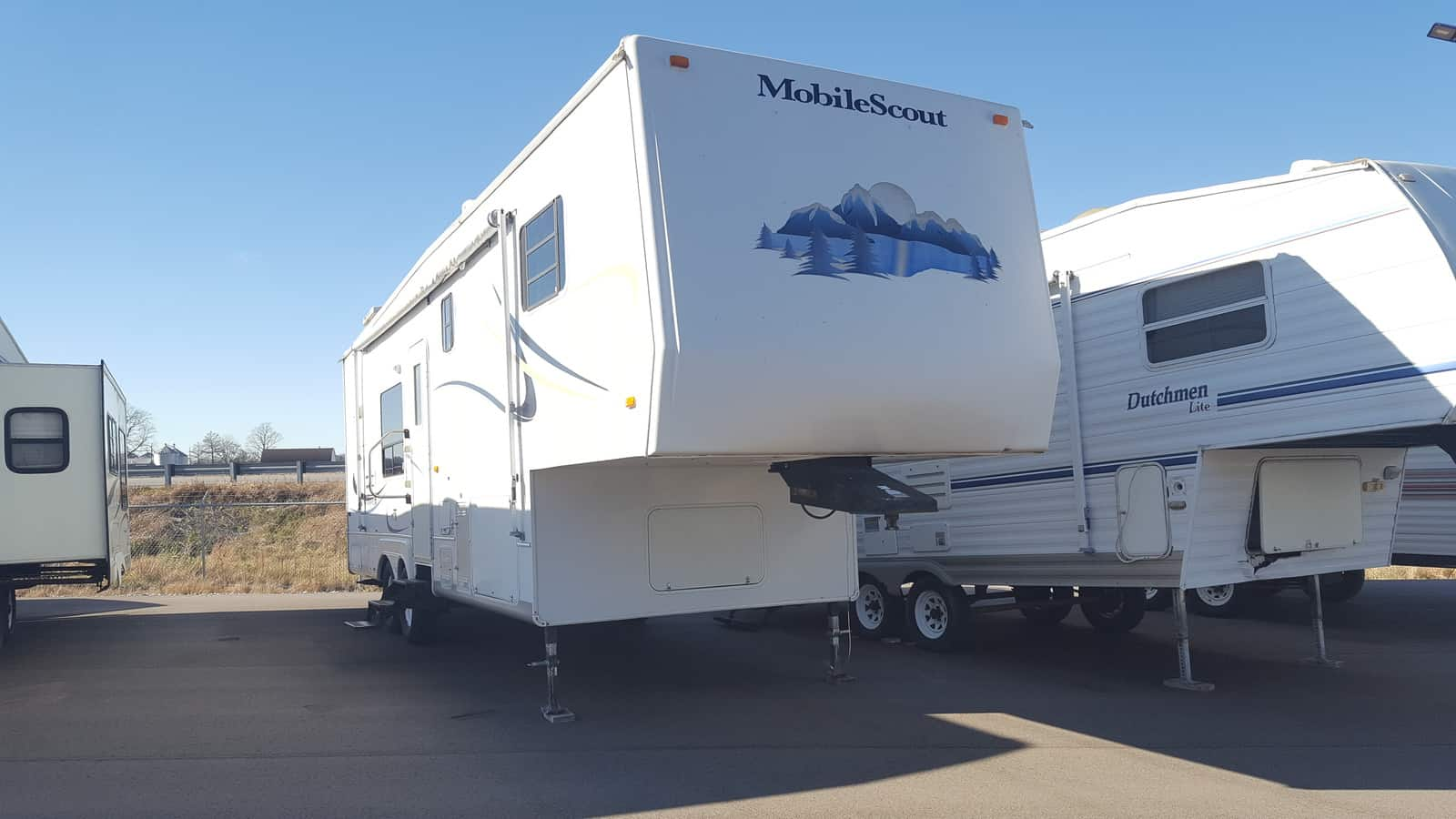 USED 2003 Sunnybrook MOBILE SCOUT 30RKFS - American RV