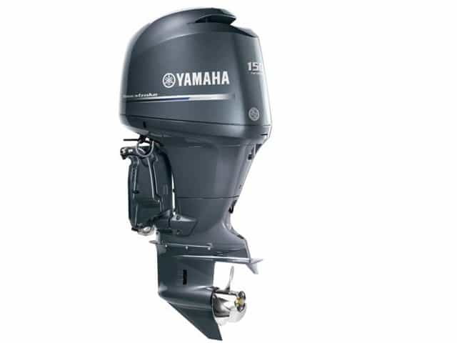 New 0000 yamaha four stroke in line f150 metairie la for Yamaha f150 lower unit oil