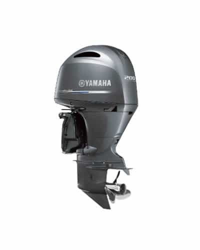 New  Yamaha Marine Four Stroke In-line Outboard
