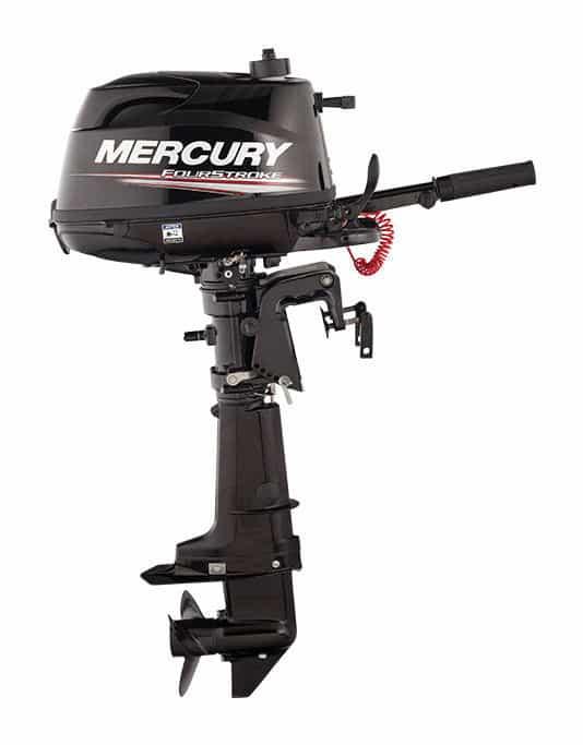 New  Mercury Marine Fourstroke 5hp Outboard