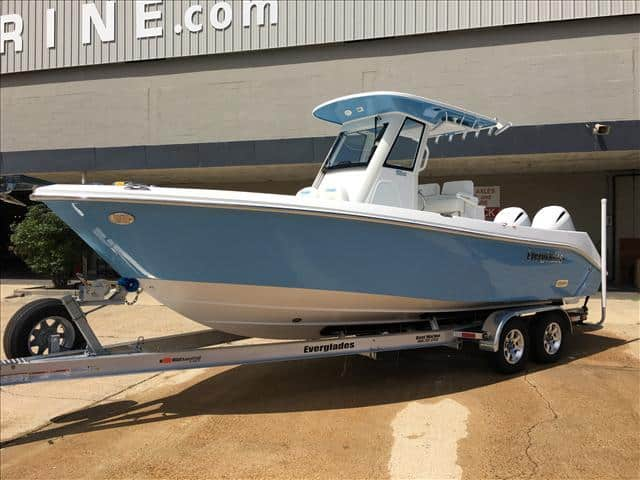 New  2017 24.7' Everglades 255 Fish Boat in Metairie, Louisiana