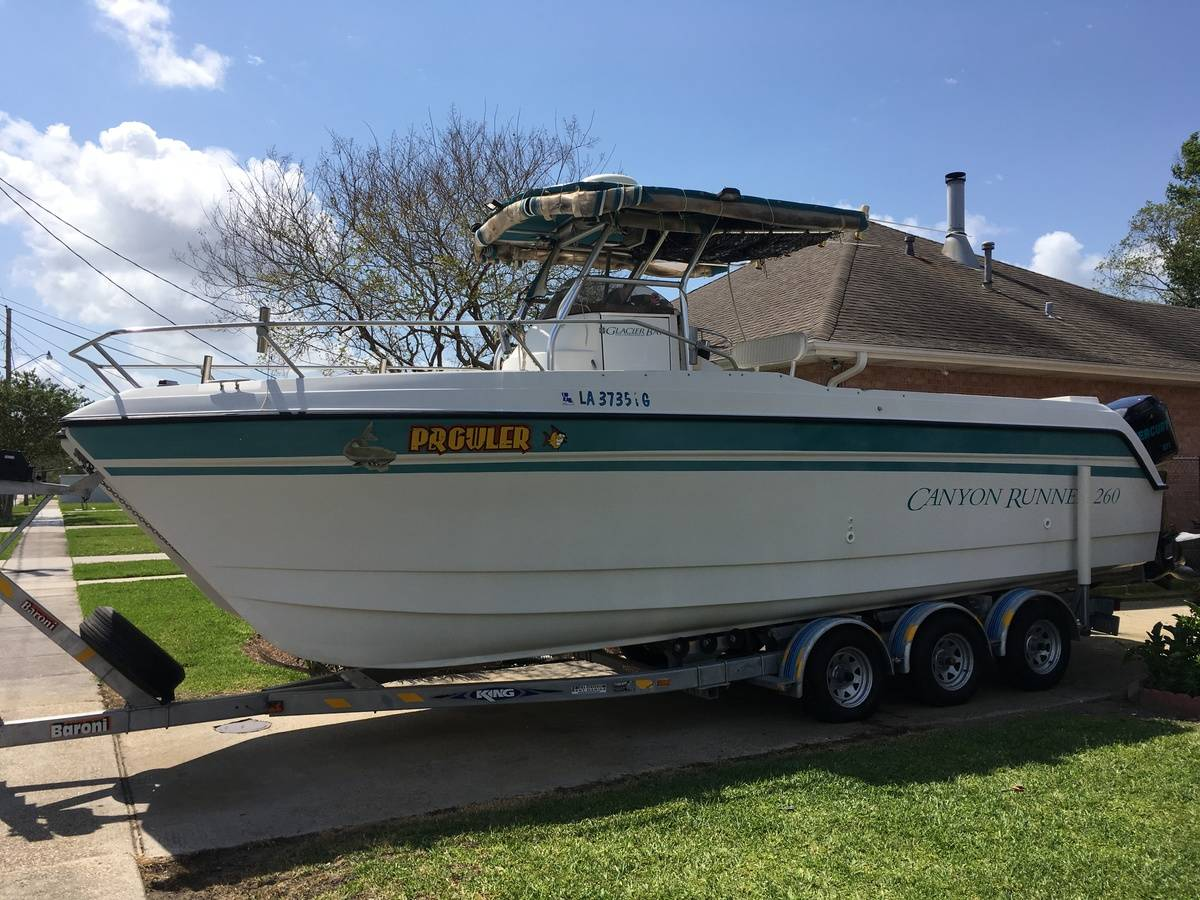 USED 1997 Glacier Bay CANYON RUNNER 260
