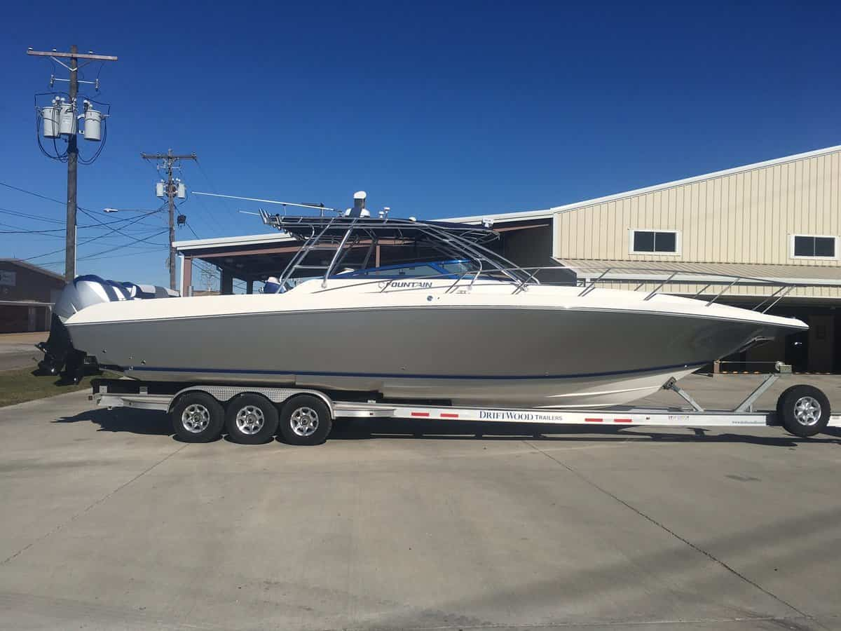 USED 2007 Fountain 38 Luxury Edition