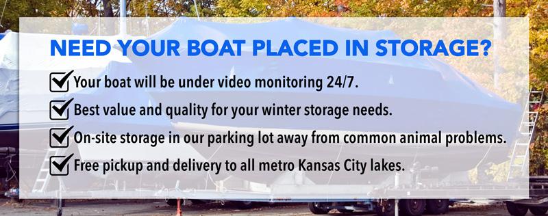 Blue Springs, MO Boat Storage