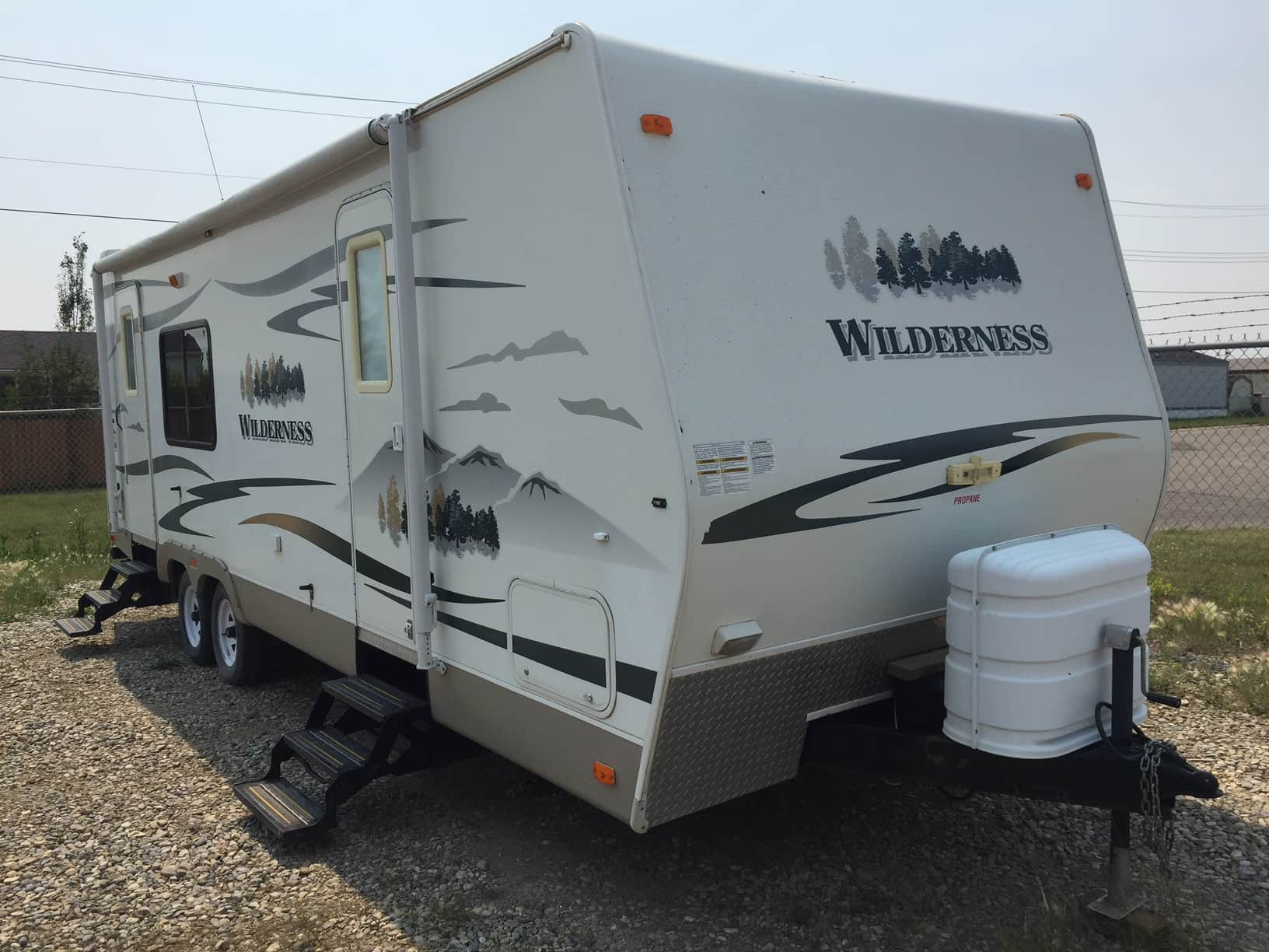 USED 2008 Fleetwood Rv WILDERNESS 240RKS