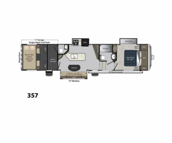 NEW 2017 Keystone CARBON 357