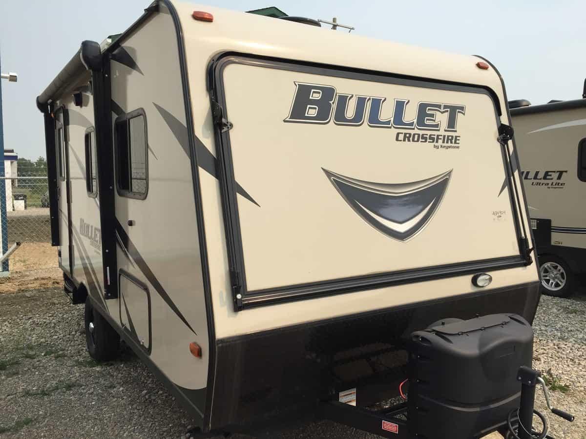NEW 2017 Keystone BULLET 1650 EX