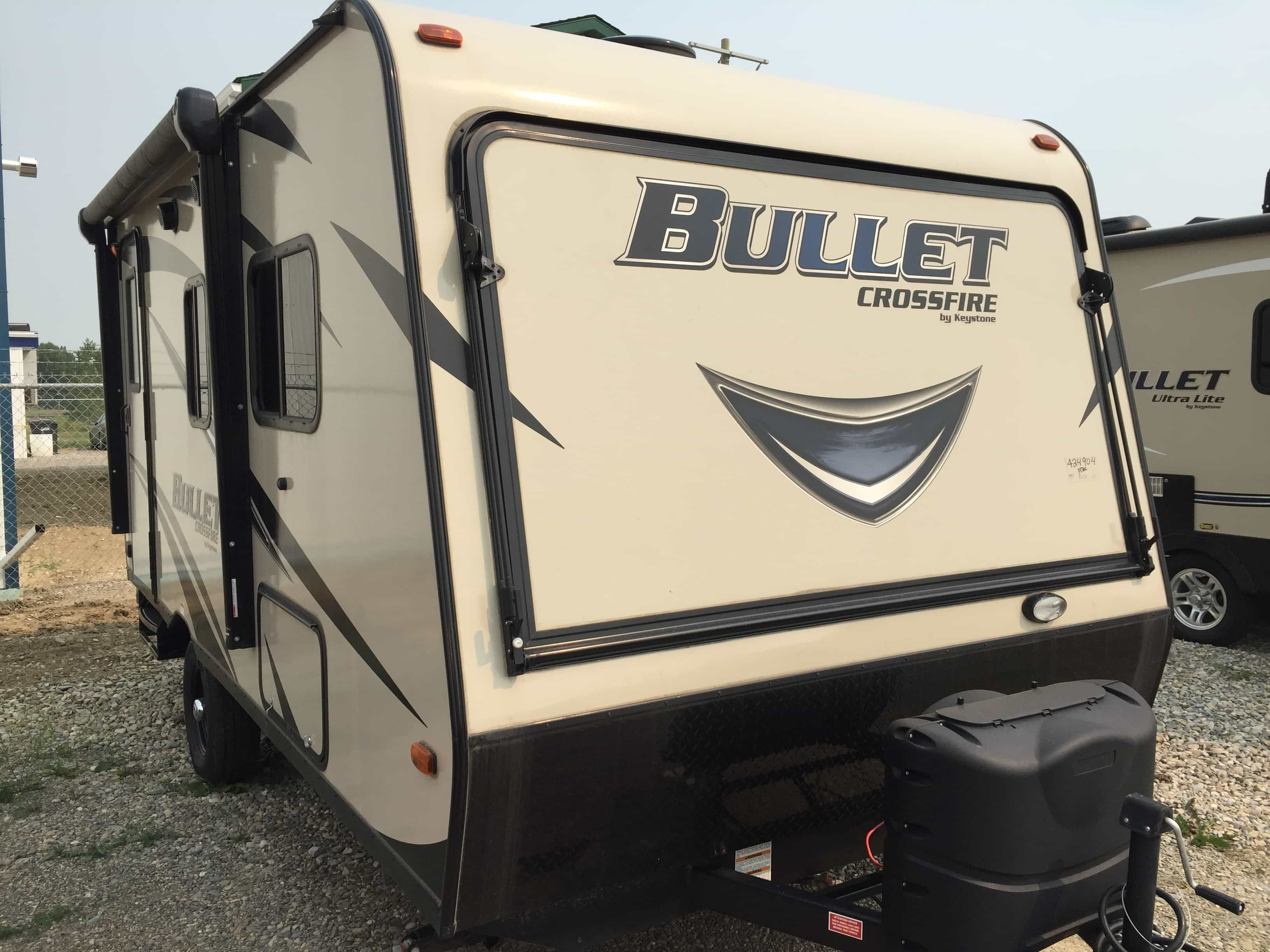 NEW 2017 Keystone RV Bullet Crossfire 1650EX