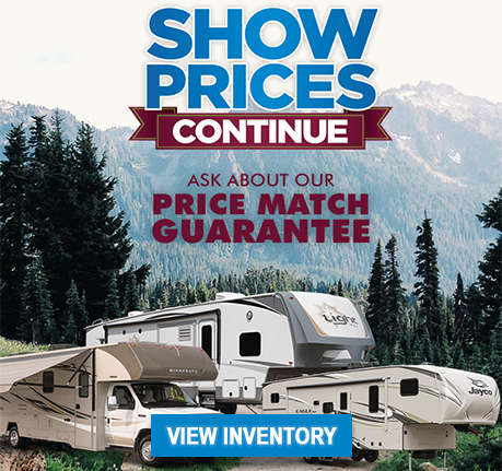 Inventory for Clear Creek RV Center