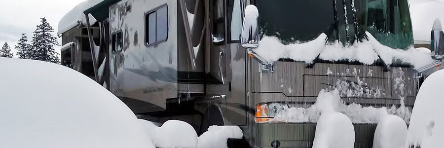 Surviving RV in Winter Tips - RV Blog