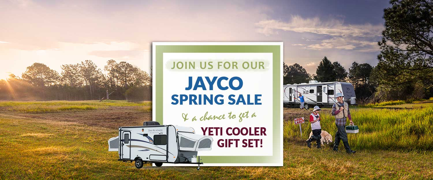 Jayco Spring Sale Event