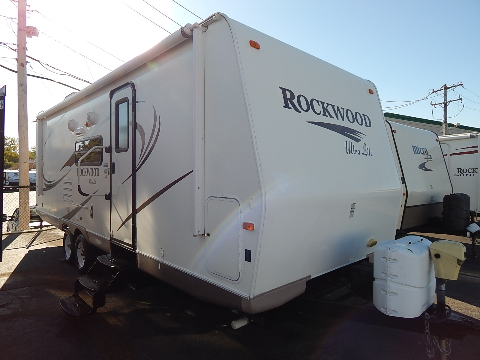 USED 2011 Rockwood ULTRA LIGHT 2501SS - Rick's RV Center