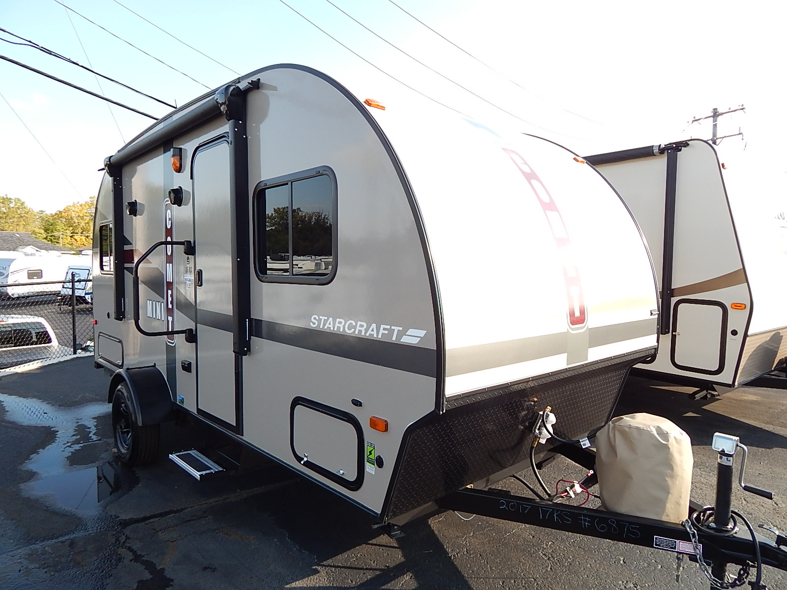 USED 2017 Starcraft COMET MINI 16KS - Rick's RV Center