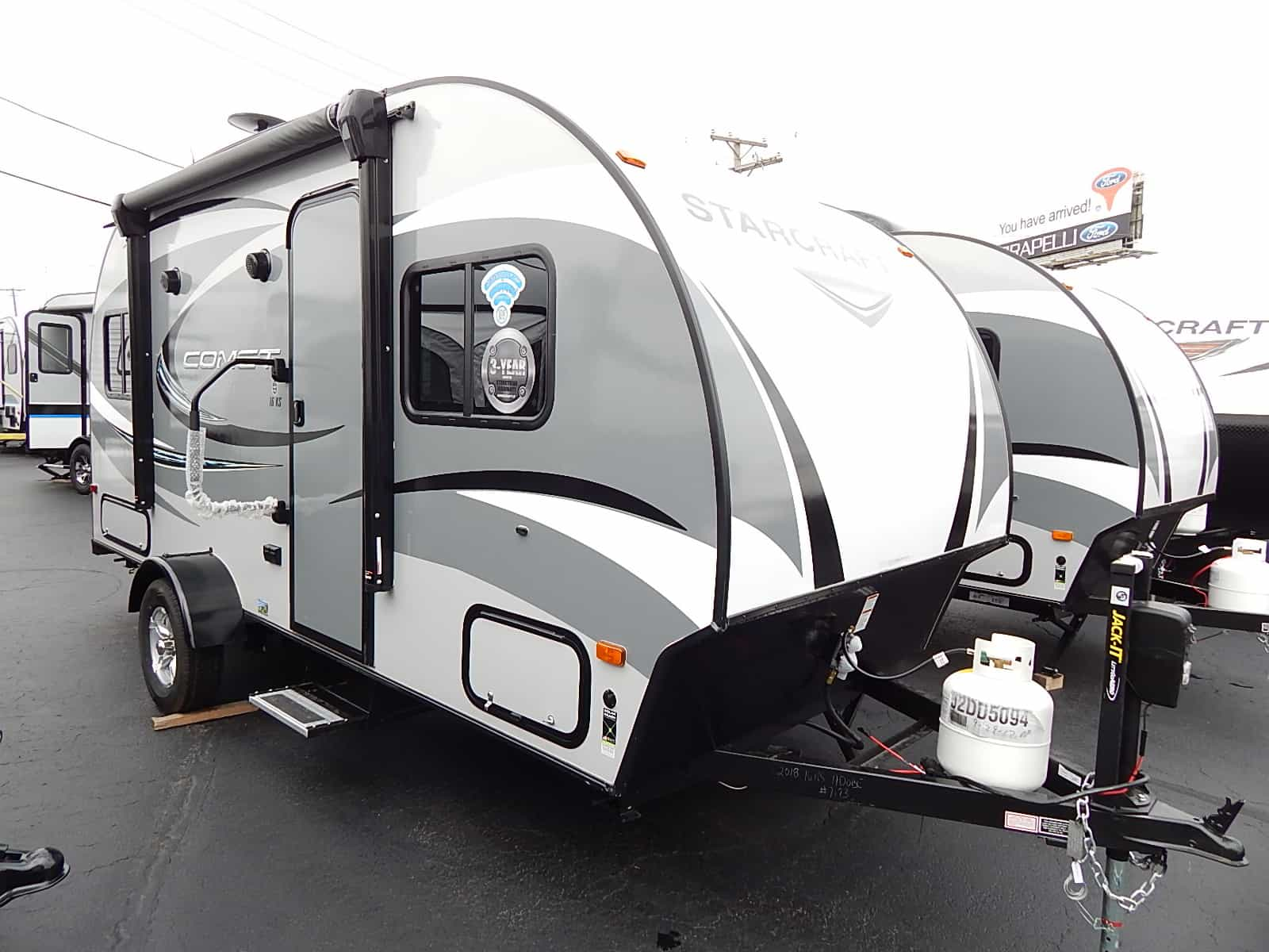 NEW 2018 Jayco COMET MINI 16KS - Rick's RV Center