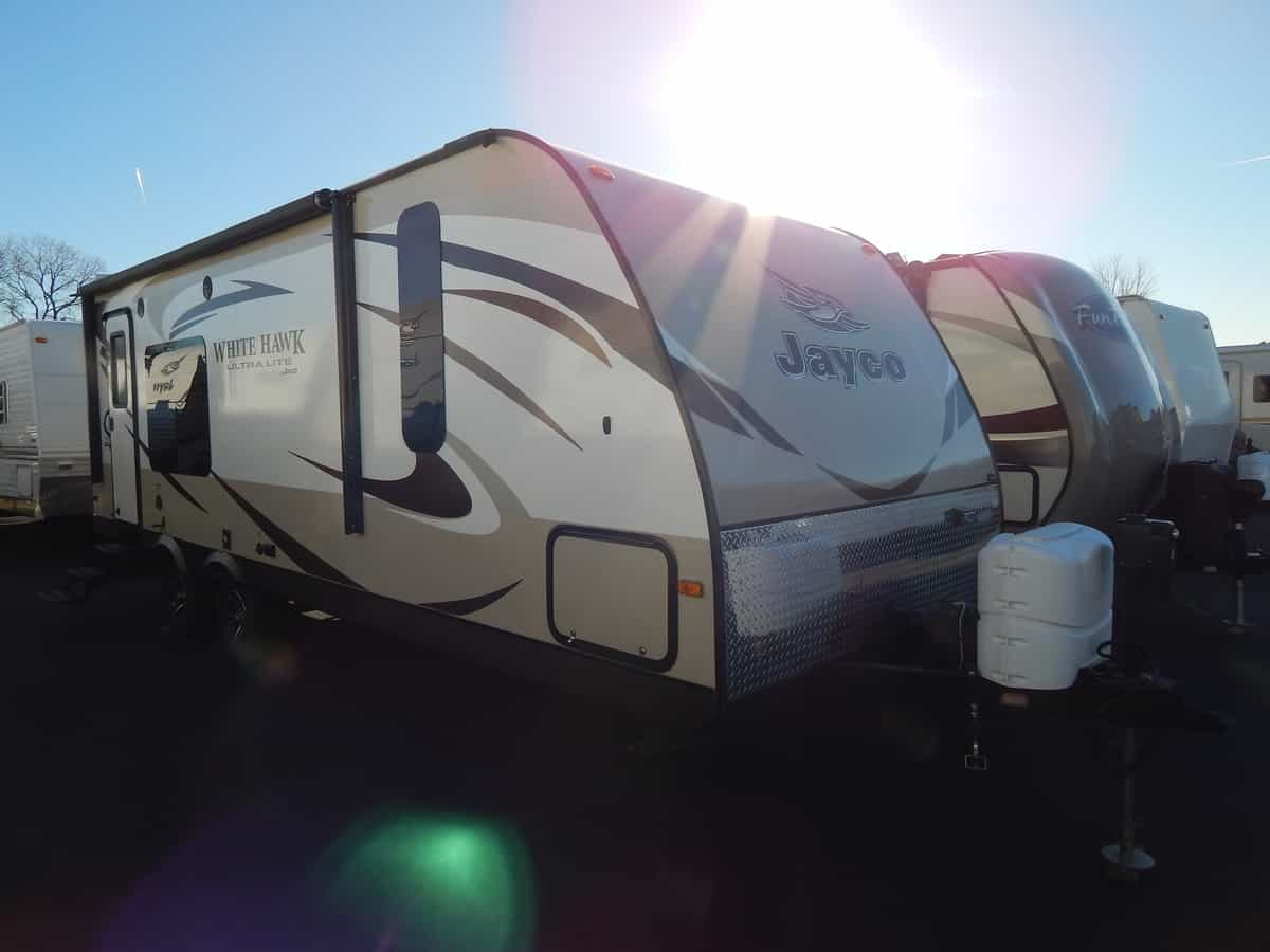 USED 2015 Jayco WHITE HAWK 24RKS - Rick's RV Center