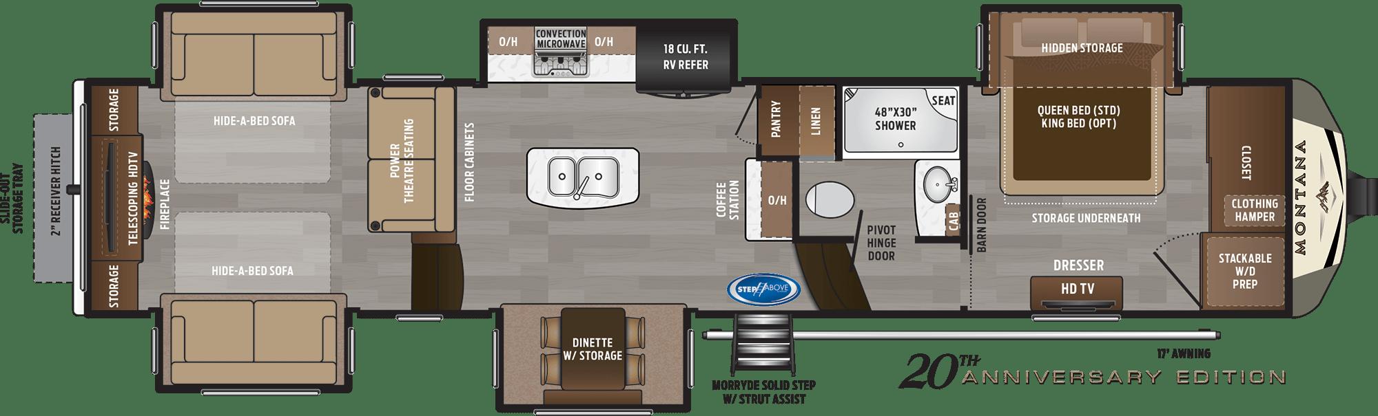 NEW 2019 Keystone MONTANA 3790RD - American RV