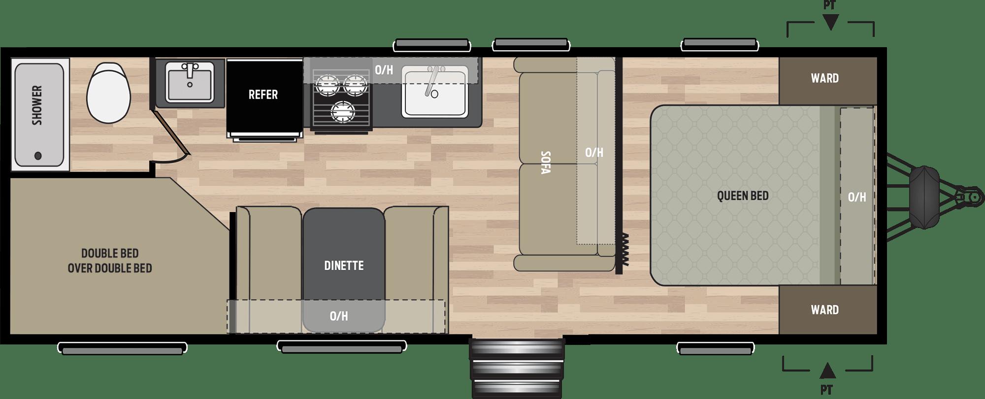 NEW 2019 Keystone SPRINGDALE 260BH - American RV