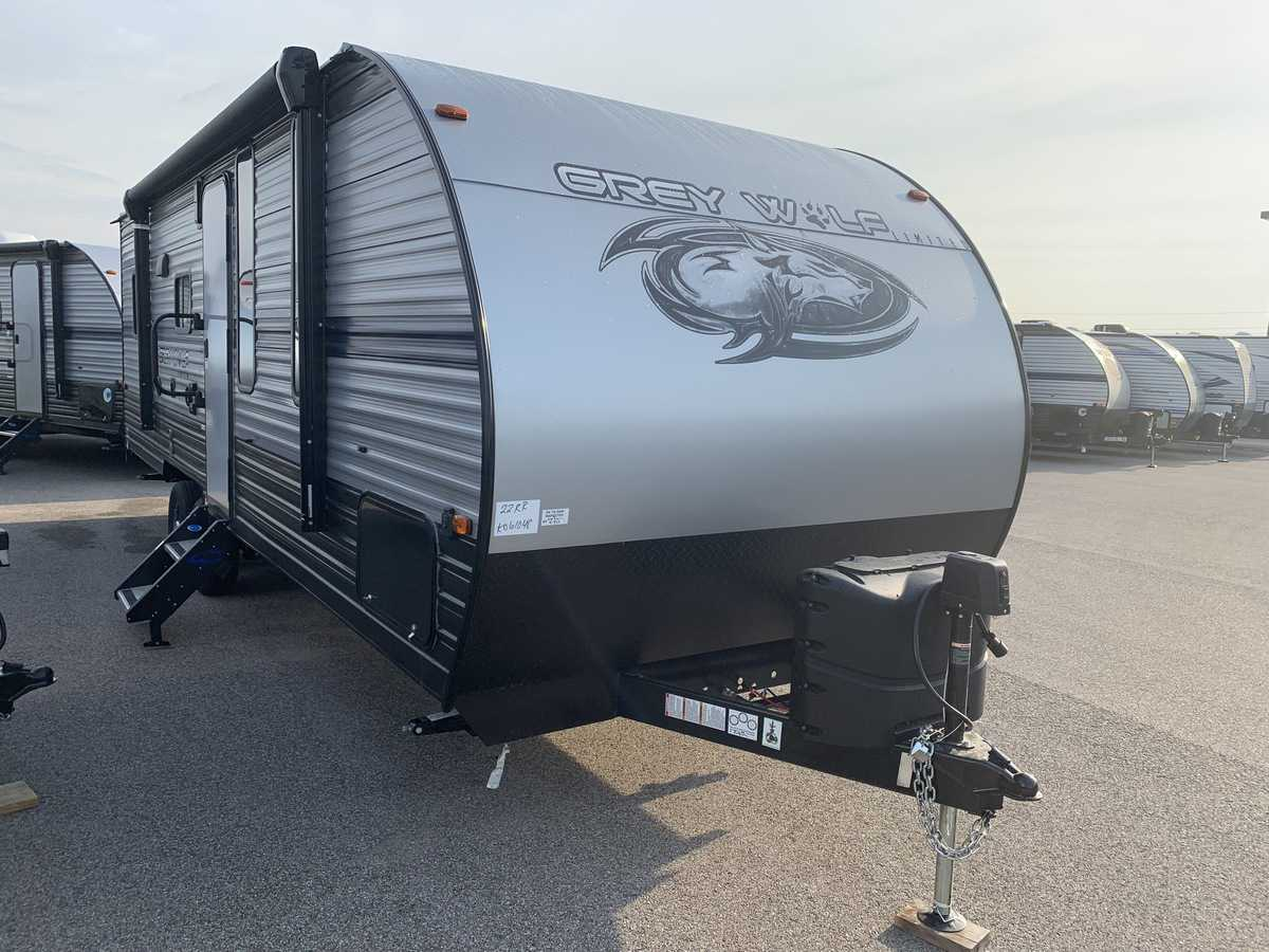 NEW 2019 Forest River CHEROKEE GREY WOLF 22RR - American RV