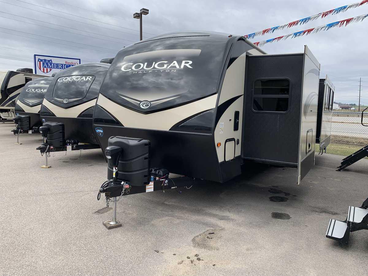 NEW 2019 Keystone COUGAR HALF-TON 29RLD - American RV