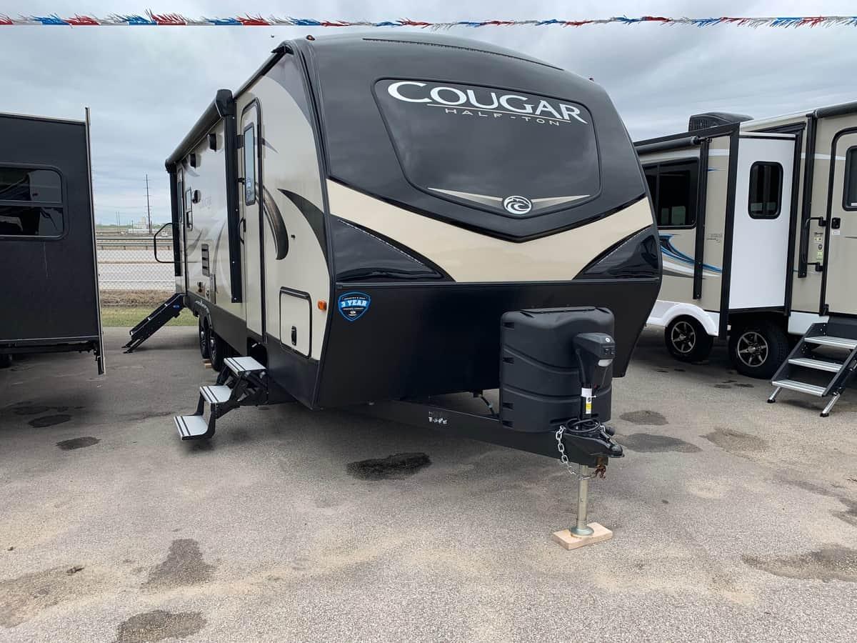 NEW 2019 Keystone COUGAR HALF-TON 27SAB - American RV