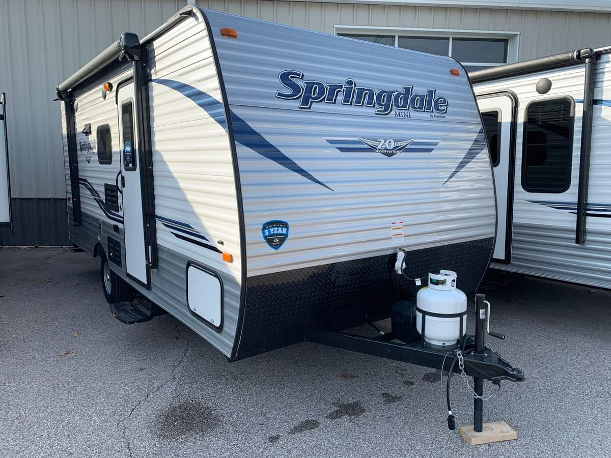 NEW 2019 Keystone SPRINGDALE 1800BH - American RV