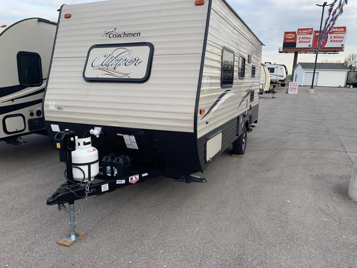 USED 2017 Coachmen CLIPPER 17FB - American RV