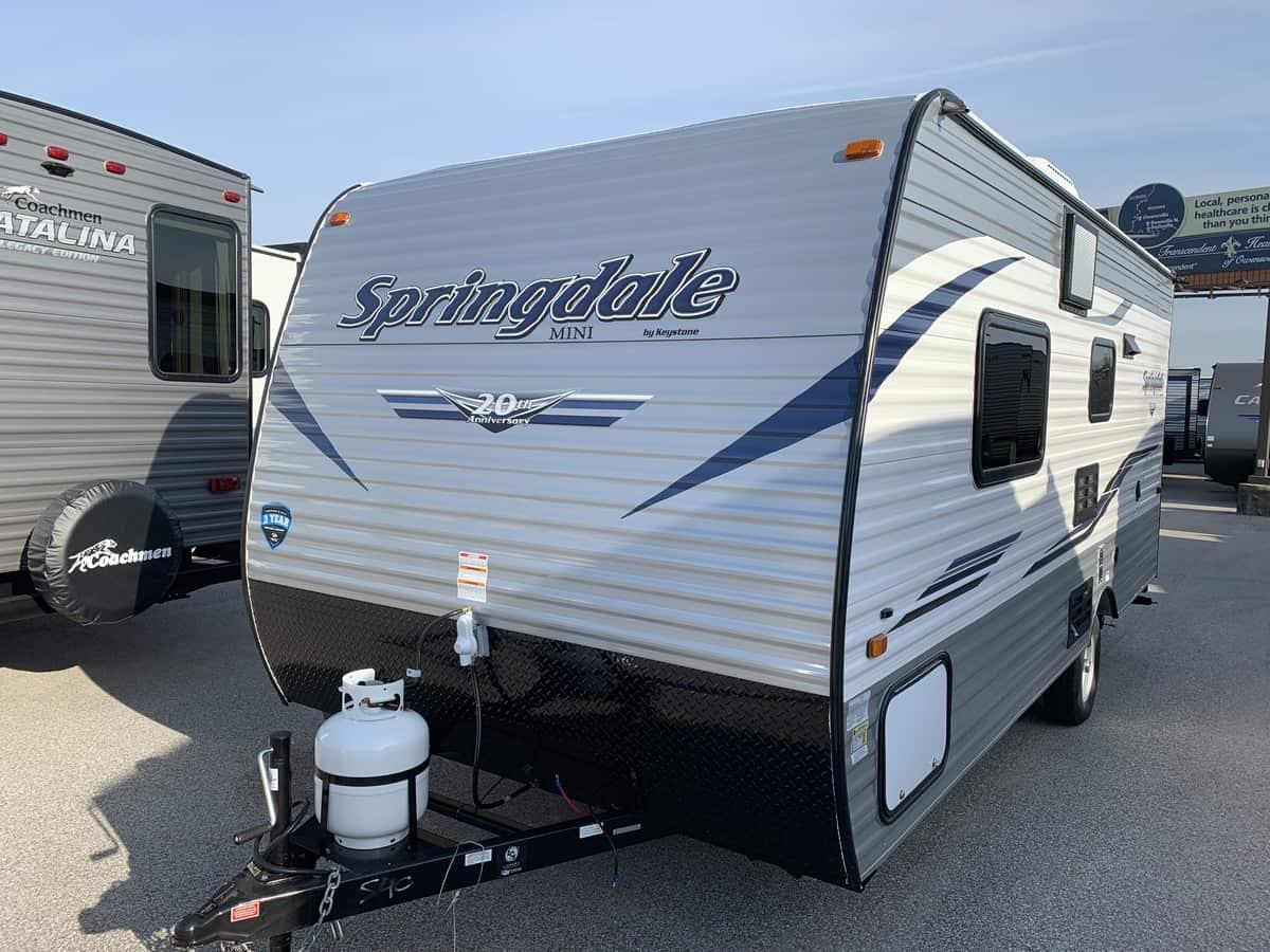 NEW 2019 Keystone SPRINGDALE 1700FQ - American RV
