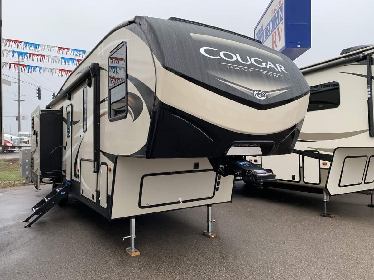 NEW 2019 Keystone COUGAR HALF-TON 32DBH - American RV