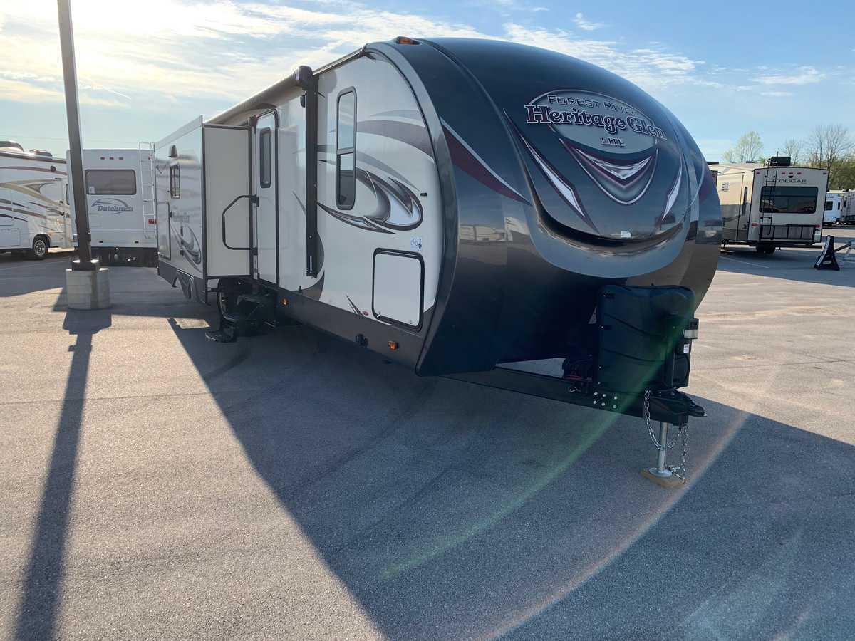 USED 2018 Forest River HERITAGE GLEN 272RL - American RV
