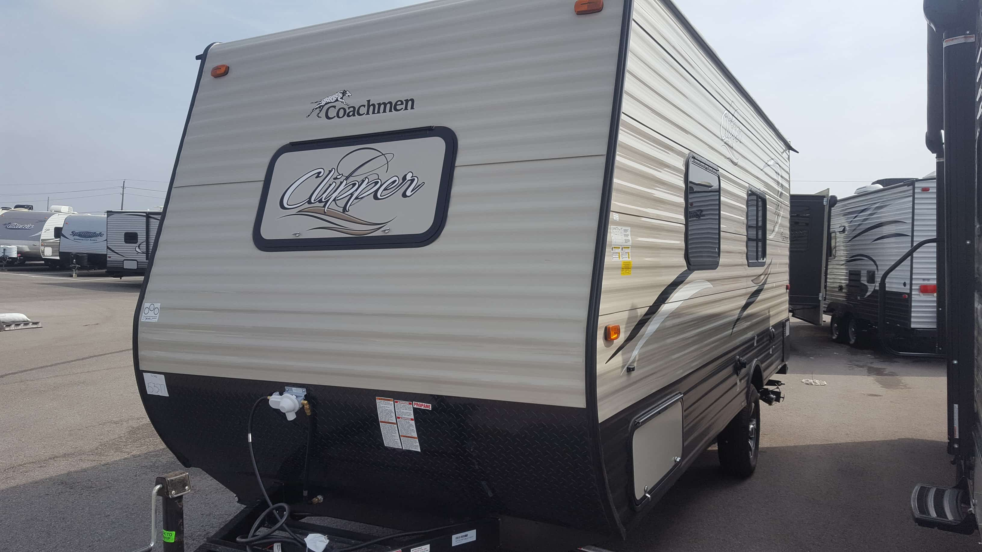 NEW 2018 Coachmen CLIPPER 17FQ - American RV