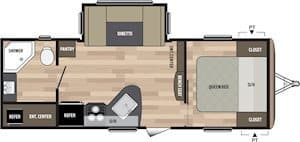 NEW 2018 Keystone SPRINGDALE 235RB - American RV
