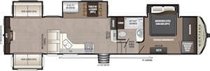 NEW 2018 Keystone MONTANA HIGH COUNTRY 378RD - American RV