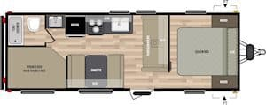 NEW 2018 Keystone SUMMERLAND 2600TB - American RV