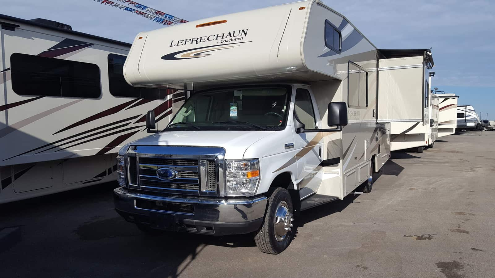 NEW 2018 Coachmen LEPRECHAUN 210RSF - American RV