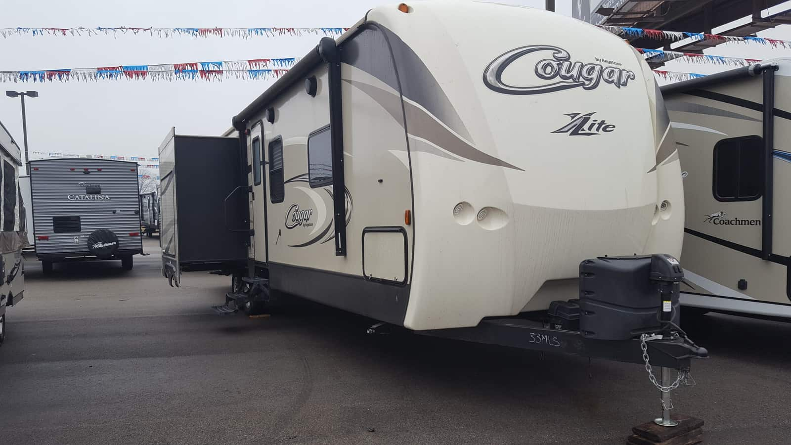 USED 2016 Keystone COUGAR 33MLS - American RV