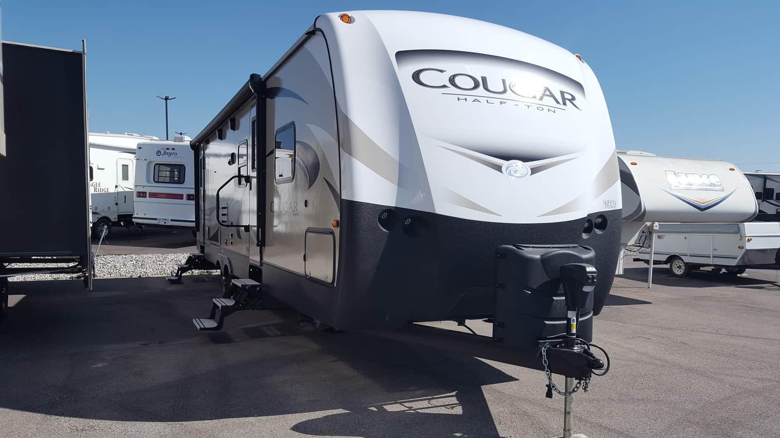 NEW 2018 Keystone COUGAR HALF-TON 29BHS - American RV