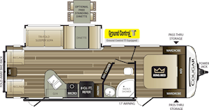 NEW 2018 Keystone COUGAR HALF-TON 27SAB - American RV