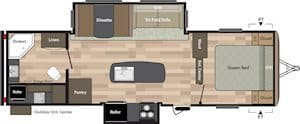NEW 2018 Keystone SPRINGDALE 287RB - American RV