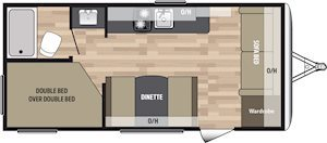 NEW 2018 Keystone SUMMERLAND MINI 1850FL - American RV