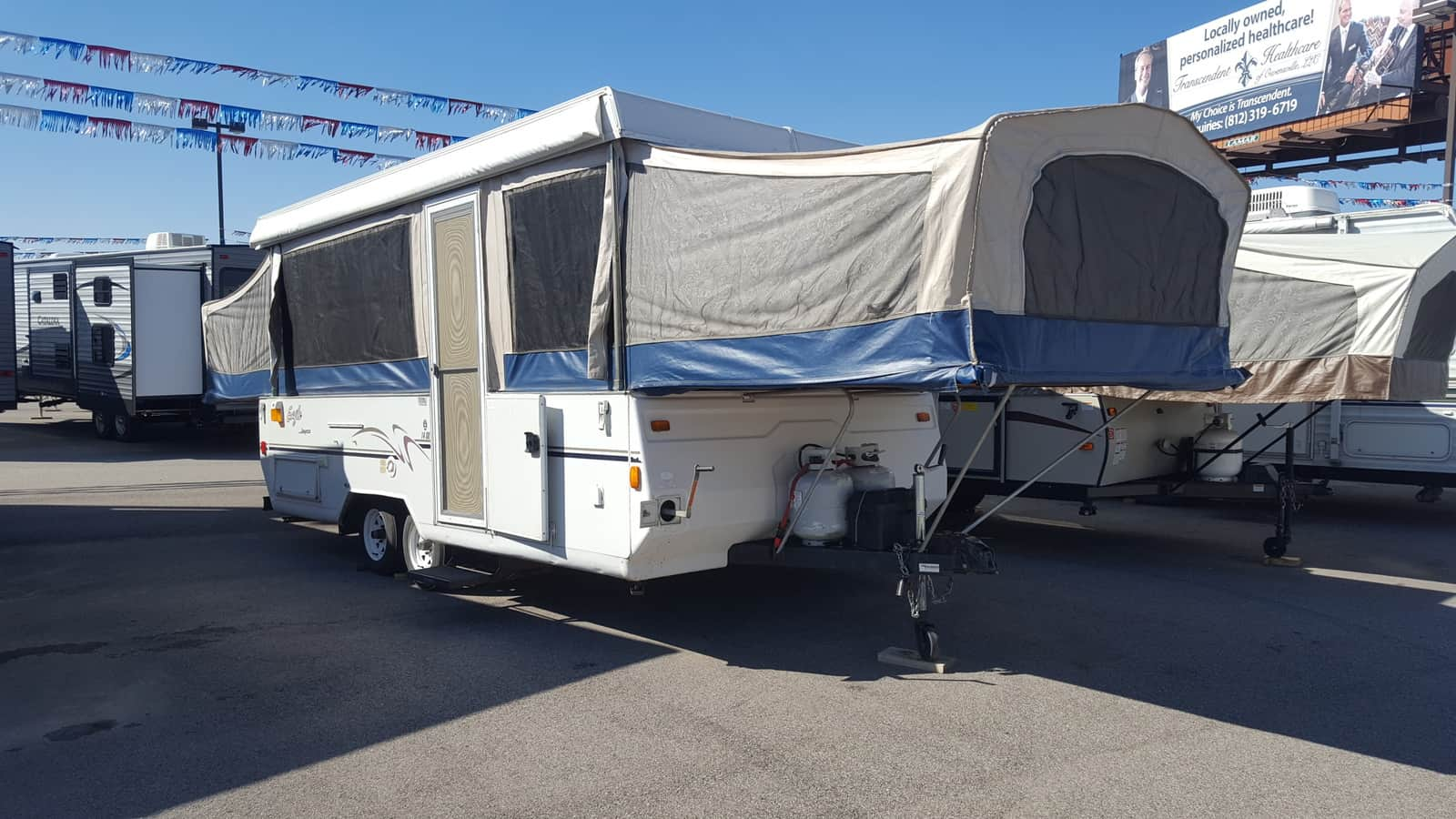 USED 2003 Jayco EAGLE 14SO - American RV