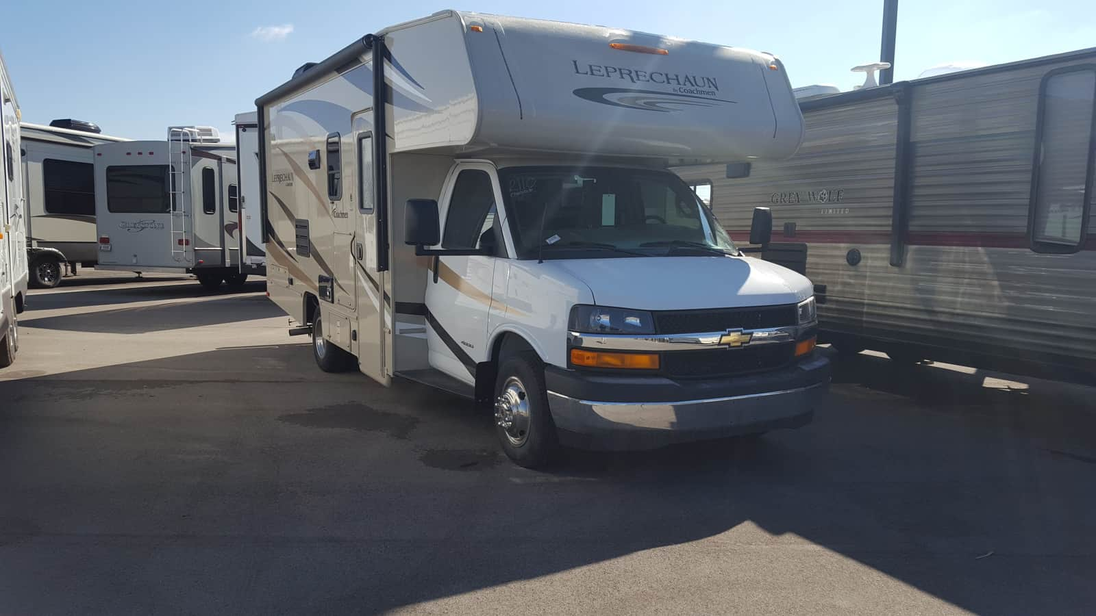 NEW 2018 Coachmen LEPRECHAUN 210RSC - American RV