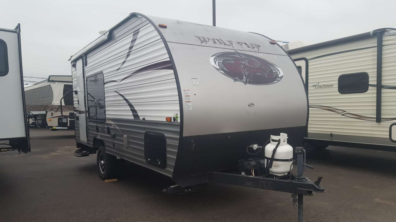 USED 2015 Forest River CHEROKEE WOLF PUP 17RP - American RV