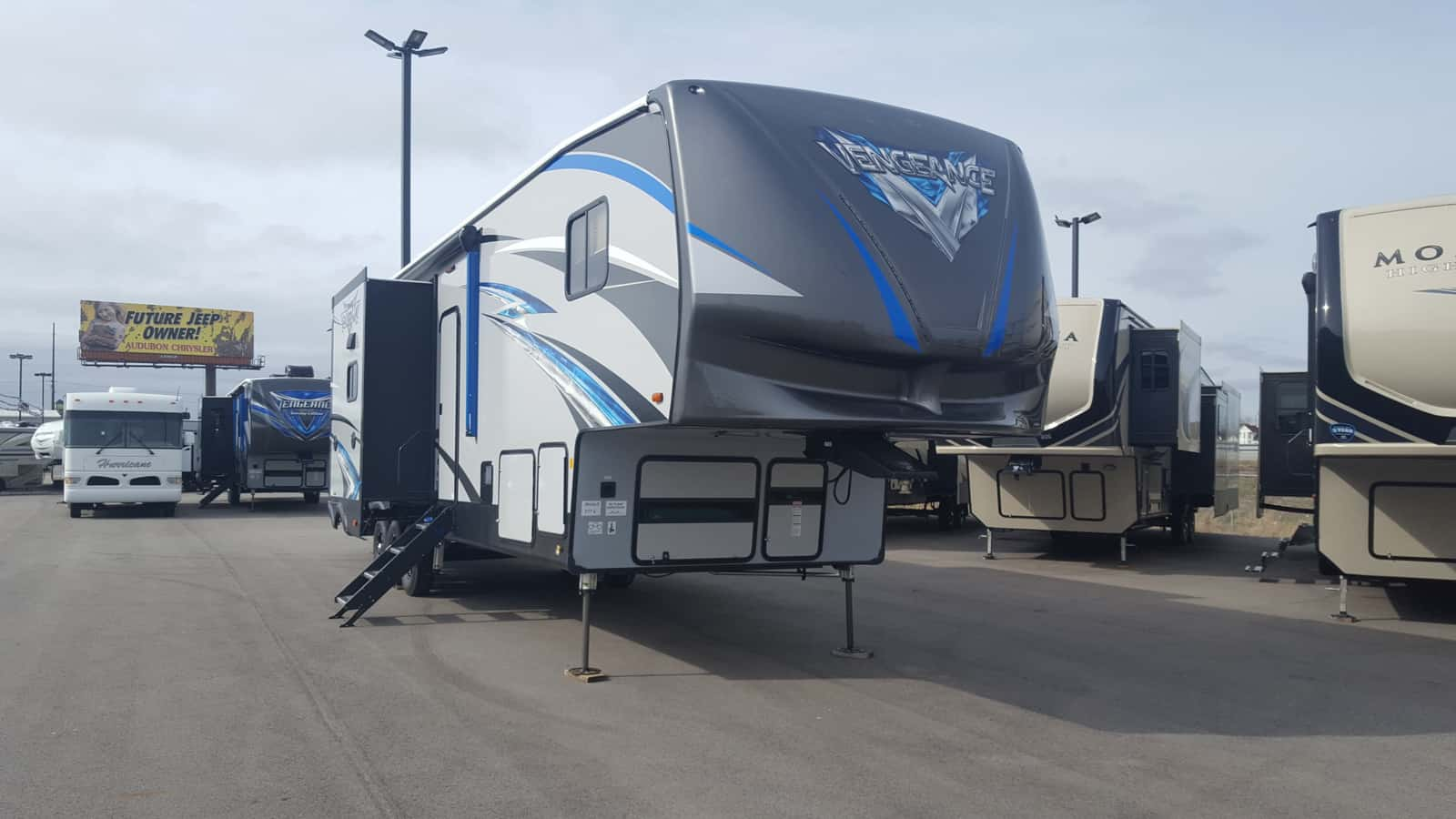 NEW 2019 Forest River VENGEANCE 377V-B - American RV