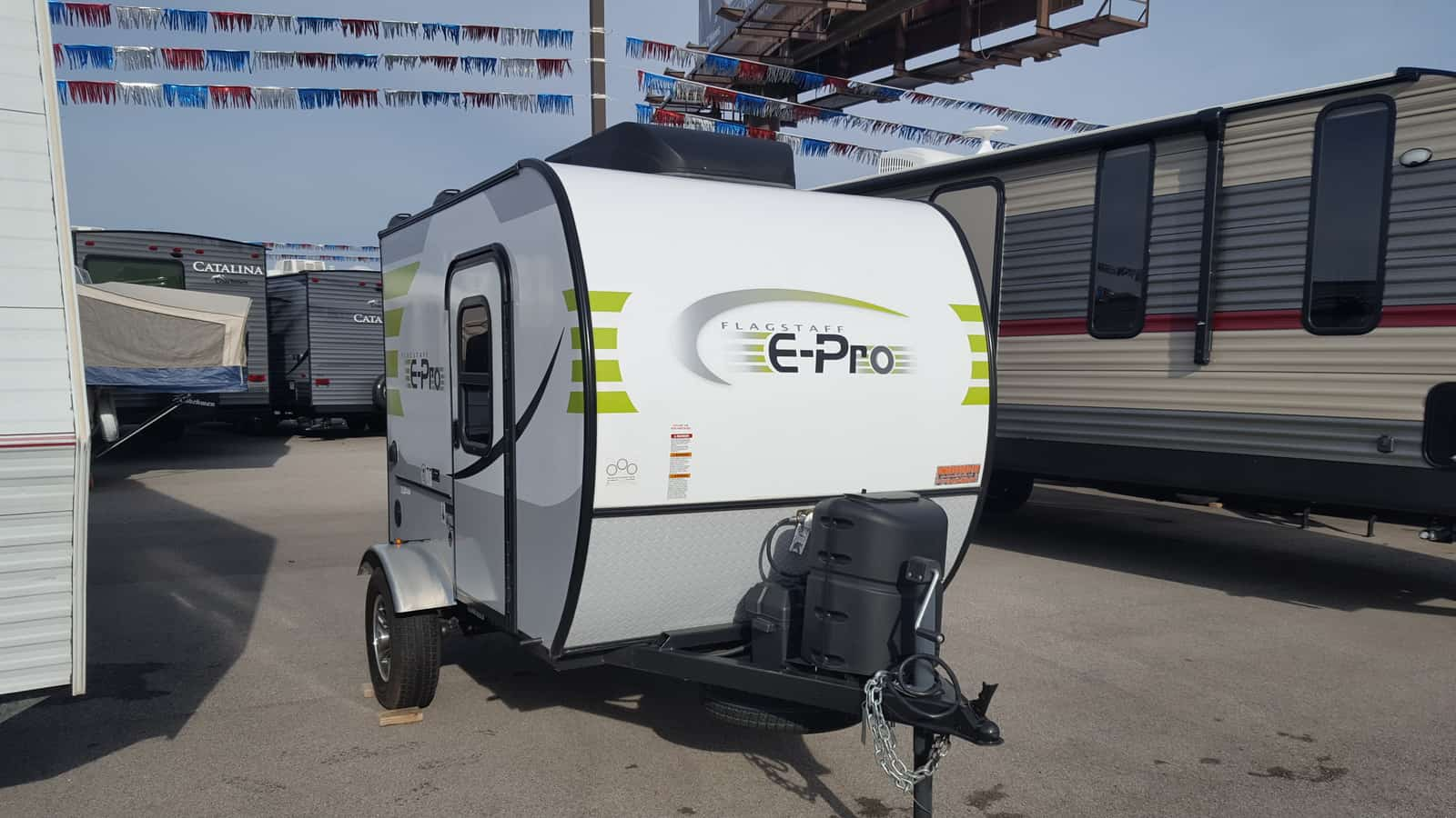 USED 2018 Forest River FLAGSTAFF E-PRO 12RK - American RV