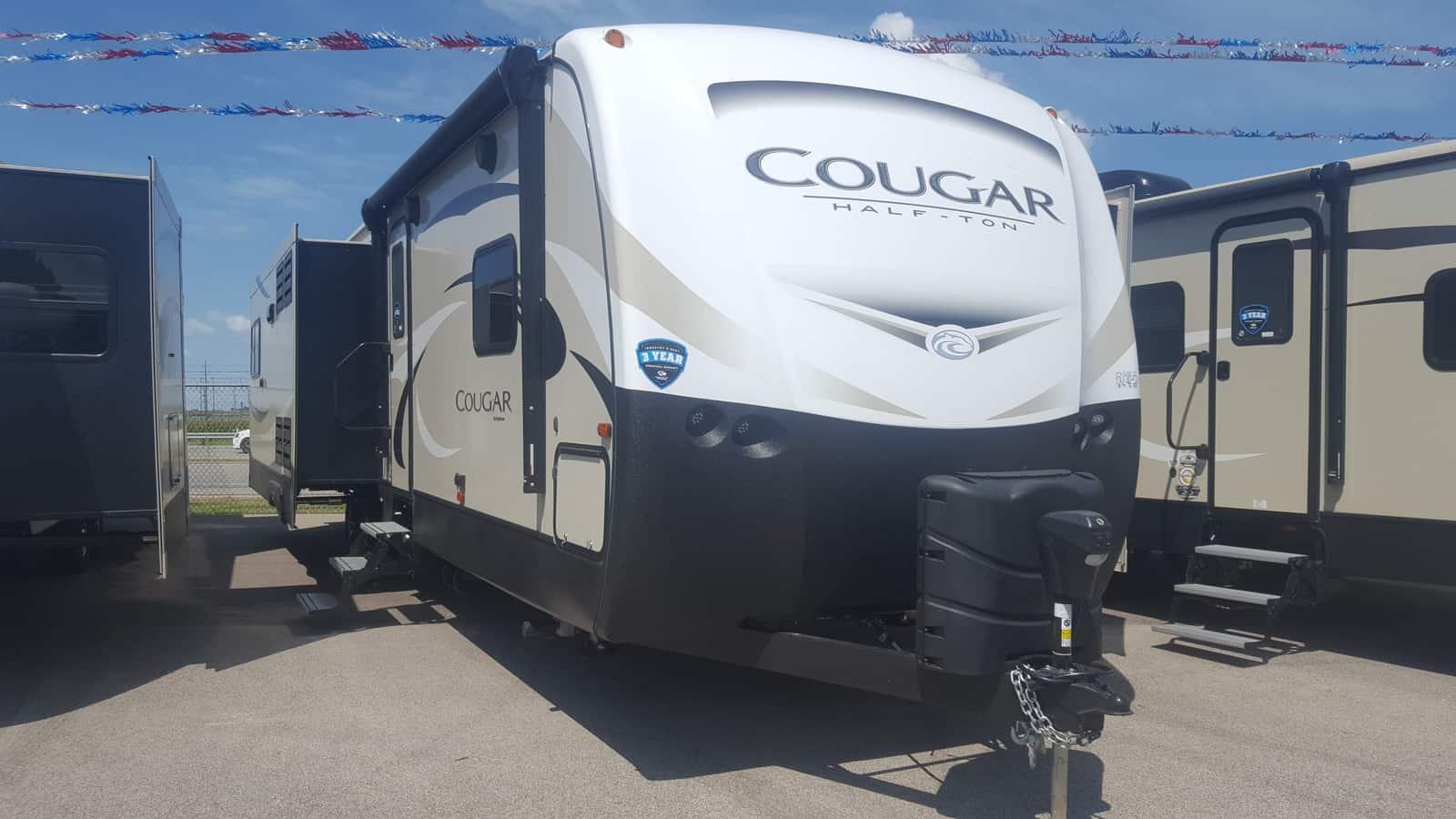 NEW 2019 Keystone COUGAR HALF-TON 33SAB - American RV
