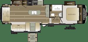 NEW 2019 Keystone COUGAR HALF-TON 30RLS - American RV